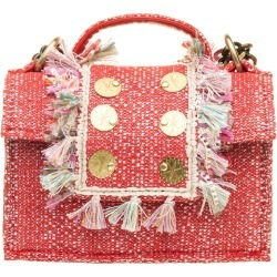 Kooreloo Kooreloo Red Tweed Crossbody Bag found on MODAPINS from Italist for USD $324.41