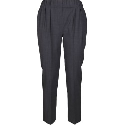 Brunello Cucinelli Grey Virgin Wool Blend Trousers found on Bargain Bro UK from Italist