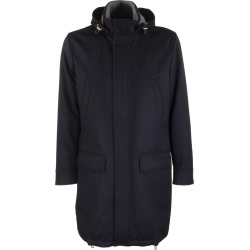 Brunello Cucinelli Lightweight Water-resistant Cashmere Long Parka And Removable Hood found on Bargain Bro UK from Italist