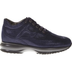 Hogan Blue Interactive Shoes In Leather found on MODAPINS from Italist for USD $365.57