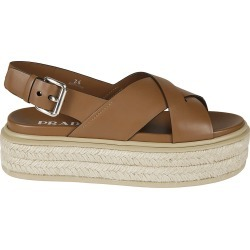 Prada Side Buckled Wedge Sandals found on MODAPINS from Italist for USD $491.32
