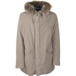 Herno Cotton Down Jacket With Fur Is Coyote found on MODAPINS from Italist for USD $975.45