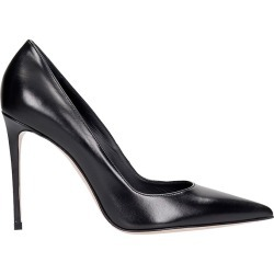 Le Silla Deco Eva 100 Pumps In Black Leather found on MODAPINS from italist.com us for USD $454.36