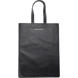 Comme Des Garçons Shopping Bag In Black Leather found on MODAPINS from Italist for USD $405.85