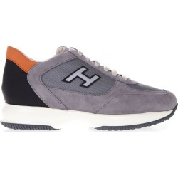 Hogan Grey Interactive Sneaker In Suede And Nylon found on Bargain Bro UK from Italist