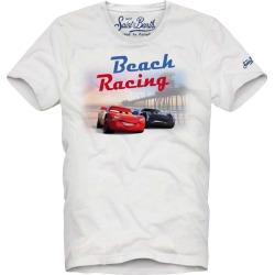 MC2 Saint Barth Boys T-shirt Cars Beach Riders found on Bargain Bro from italist.com us for USD $70.51