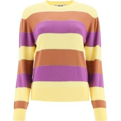 MSGM Striped Sweater With Crystals found on Bargain Bro UK from Italist