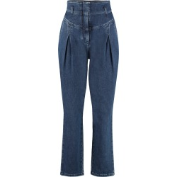 Alberta Ferretti High-rise Carrot-fit Jeans found on MODAPINS from Italist for USD $510.88