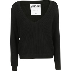 Moschino Layered Ribbed Knit Sweater found on Bargain Bro India from Italist Inc. AU/ASIA-PACIFIC for $440.96