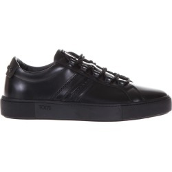 Tods Leather Sneakers With Tods Stitched Monogram found on Bargain Bro Philippines from Italist Inc. AU/ASIA-PACIFIC for $403.43