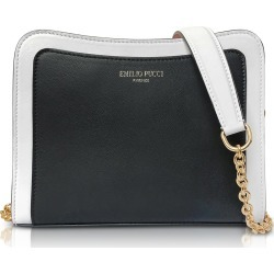 Emilio Pucci Tri-color Leather Shoulder Bag found on Bargain Bro India from Italist Inc. AU/ASIA-PACIFIC for $601.77
