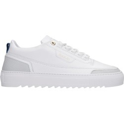 Mason Garments Firenze Sneakers In White Leather found on MODAPINS from italist.com us for USD $324.22