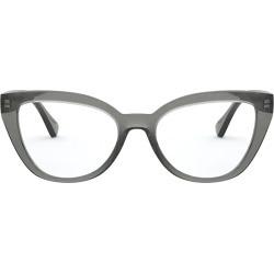 Ralph Lauren Ralph Lauren Ra7112 Shiny Transparent Grey Glasses found on Bargain Bro UK from Italist