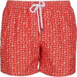 Barba Napoli Red Swim Shorts found on MODAPINS from Italist for USD $142.51