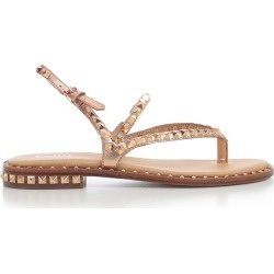 Ash Rockstud Flat Sandals found on MODAPINS from Italist for USD $206.31