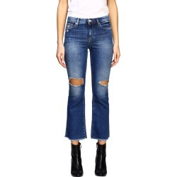 Armani Exchange Jeans Armani Exchange Trumpet Jeans With Breaks found on MODAPINS from Italist for USD $202.62