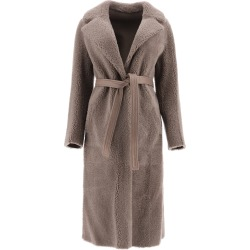 Blancha Reversible Shearling Coat found on MODAPINS from Italist for USD $2824.44