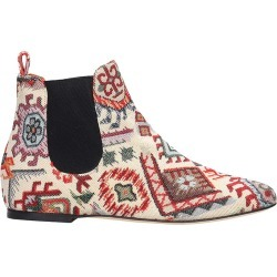 Bams Low Heels Ankle Boots In Multicolor Fabric found on MODAPINS from italist.com us for USD $323.95