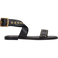 Lola Cruz Flats In Black Leather found on Bargain Bro UK from Italist