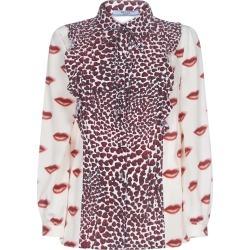 Prada Mix-print Silk Shirt found on Bargain Bro UK from Italist