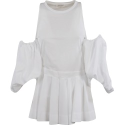 Alexander McQueen Shoulder-cut Pleated Top found on MODAPINS from italist.com us for USD $788.25
