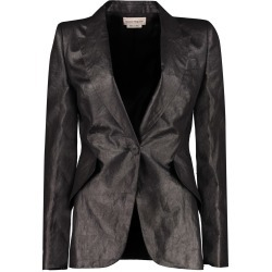 Alexander McQueen Linen Single-breasted Blazer found on MODAPINS from italist.com us for USD $902.12