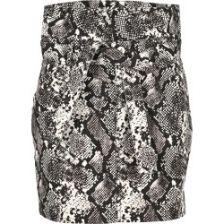 Attico Sneak Print Mini Skirt found on MODAPINS from Italist for USD $735.73