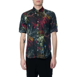 Alexander McQueen Glowing Botanical Silk Blend Shirt found on MODAPINS from Italist for USD $687.43