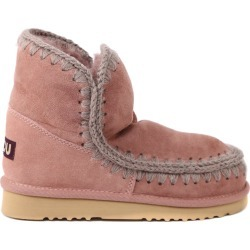 Mou Eskimo 18 Boots In Dark Pink Suede found on Bargain Bro India from italist.com us for $270.49