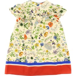 Gucci Dress With Flora Festival Print found on Bargain Bro India from italist.com us for $356.43