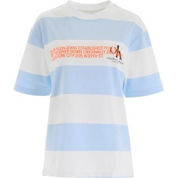 Calvin Klein Striped T-shirt With Logo