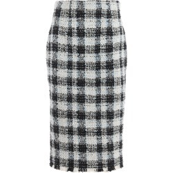 Alexander McQueen Skirt Check Tweed found on Bargain Bro Philippines from Italist Inc. AU/ASIA-PACIFIC for $838.99