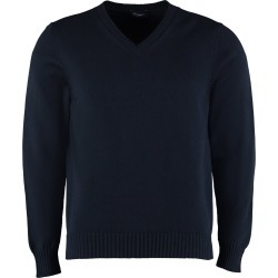 Drumohr Cotton V-neck Pullover found on MODAPINS from Italist for USD $218.05