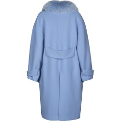 Blancha Fur Applique Oversized Coat found on MODAPINS from Italist for USD $1082.68
