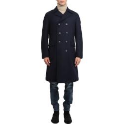 Doppiaa Navy Aarvo Coat found on MODAPINS from italist.com us for USD $793.18