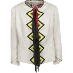 Bazar Deluxe Fringed Detail Jacket found on MODAPINS from Italist for USD $838.43
