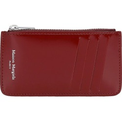 Maison Margiela Wallet In Bordeaux Patent Leather found on Bargain Bro Philippines from italist.com us for $241.11