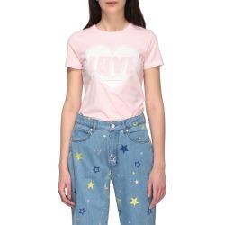 Love Moschino T-shirt Love Moschino Short-sleeved T-shirt With Heart