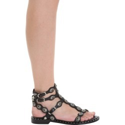 Ash Phoenix 01 Flats In Black Leather found on MODAPINS from Italist for USD $285.29