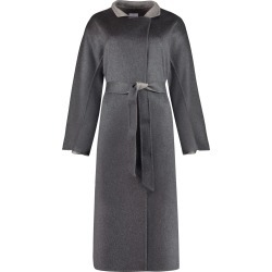 Agnona Cashmere Long Coat found on MODAPINS from Italist for USD $4171.29