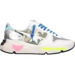 Golden Goose Running Sneakers In White Tech/synthetic found on Bargain Bro UK from Italist