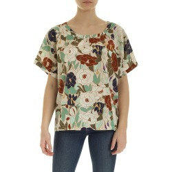 Ballantyne Printed Silk Tee found on MODAPINS from Italist for USD $293.25