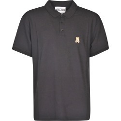 Moschino Teddy Embroidered Polo Shirt found on MODAPINS from Italist for USD $156.85