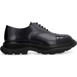 Alexander McQueen Leather Lace-up Shoes found on MODAPINS from Italist for USD $705.66