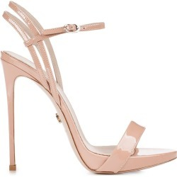 Le Silla Nude Patent Gwen 120 Sandals found on MODAPINS from Italist for USD $389.22