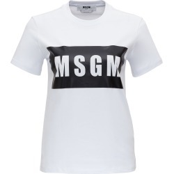 MSGM T-shirt With Logo Print found on Bargain Bro UK from Italist