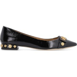 Tory Burch Kira Leather Ballet Flats With Buckles And Studs found on Bargain Bro UK from Italist