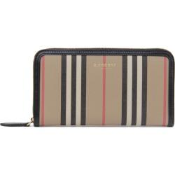 Burberry Zip Around Wallet With Iconic Print found on Bargain Bro UK from Italist