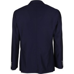 Barba Napoli Blue Virgin Wool Gimmy Blazer found on MODAPINS from Italist for USD $536.69