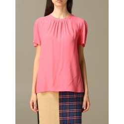 Boutique Moschino Top Moschino Boutique Top In Silk Blend Crêpe found on MODAPINS from Italist for USD $250.15